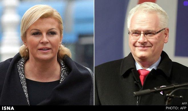 یک زن رئیسجمهور کرواسی شد/عکس