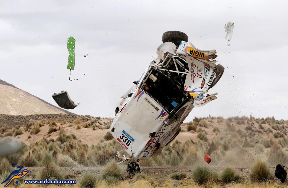 صحنه ای از سانحه وحشتناک رانندگی (عکس)