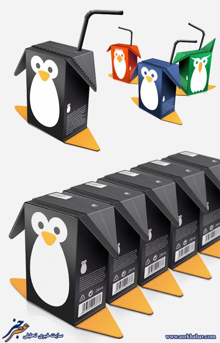 بسته بندی های بامزه
