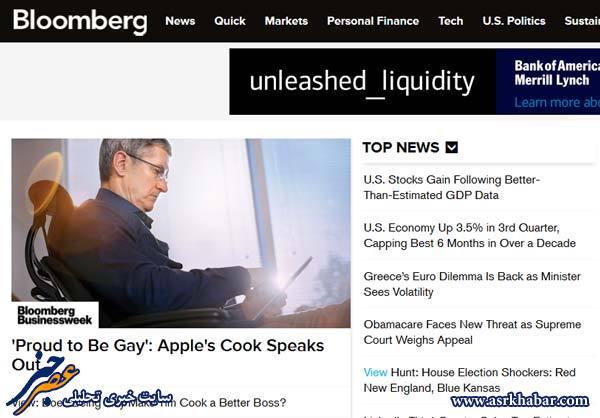 مدیرعامل اپل:  همجنسگرا   هستم !