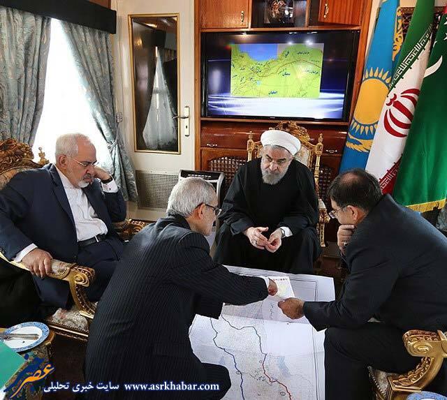 دو نما از حسن روحانی: تصویر جالب از حسن روحانی در قطار :: سرباز صفر، وبلاگ شخصی