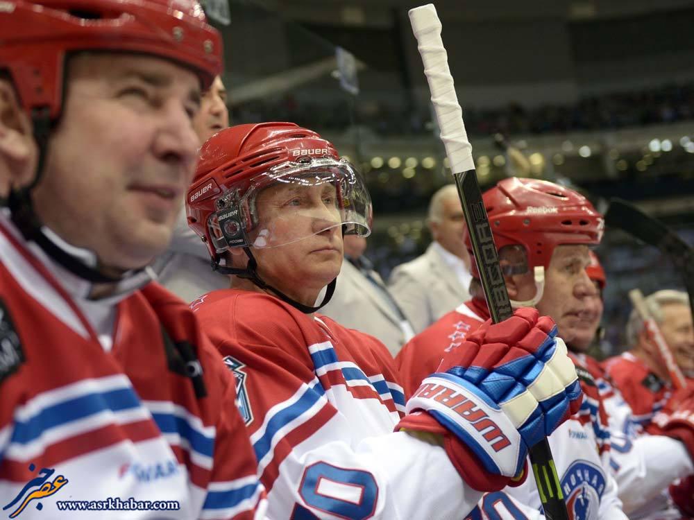 رئیس جمهور روسیه در لباسی که تاکنون ندیده اید (عکس)