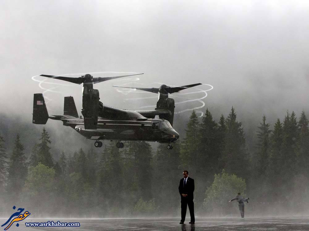 همه چیز درباره هلی کوپتر مخصوص اوباما (+عکس و فیلم)