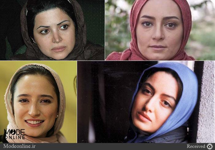 عکس های بدون آرایش بازیگران معروف ایرانی