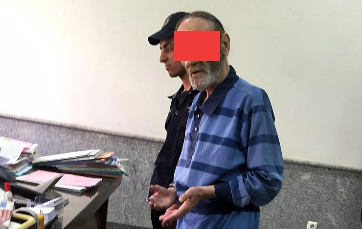 پدر و پسر آدمخوار در دادسرای تهران +عکس