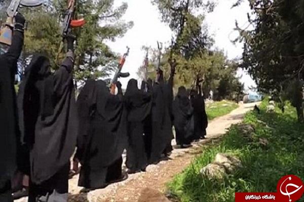 گروهان زنان داعشی (تصاویر)