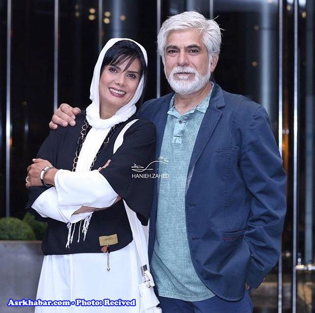 بازیگر زن مشهور ایرانی و شوهر مشهورش (عکس)