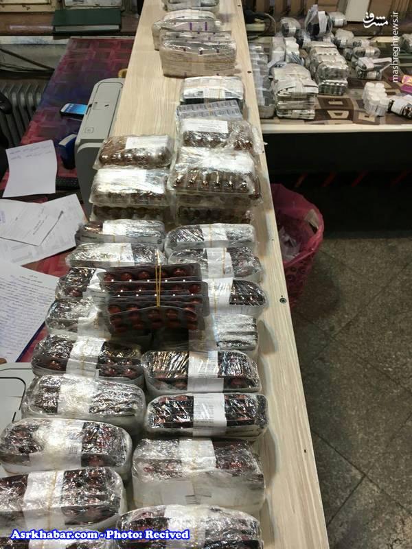 کشف 14 هزار بسته داروی قاچاق (عکس)