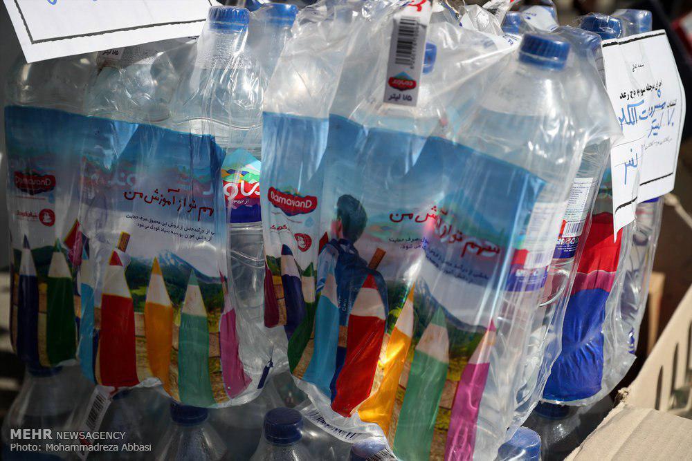 کشف مشروبات الکی در بطریهای آب معدنی مشهور (+عکس)
