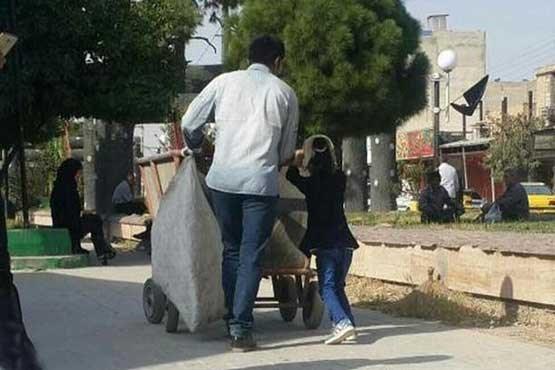 ماجرای عکس پدر و دختر فضای مجازی چه بود؟ (عکس)