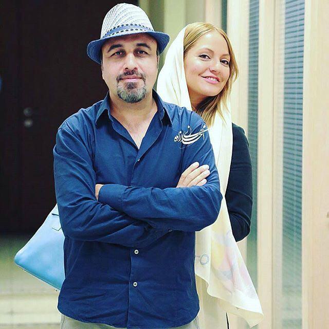 عکس جنجالی رضا عطاران و مهناز افشار در یک قاب