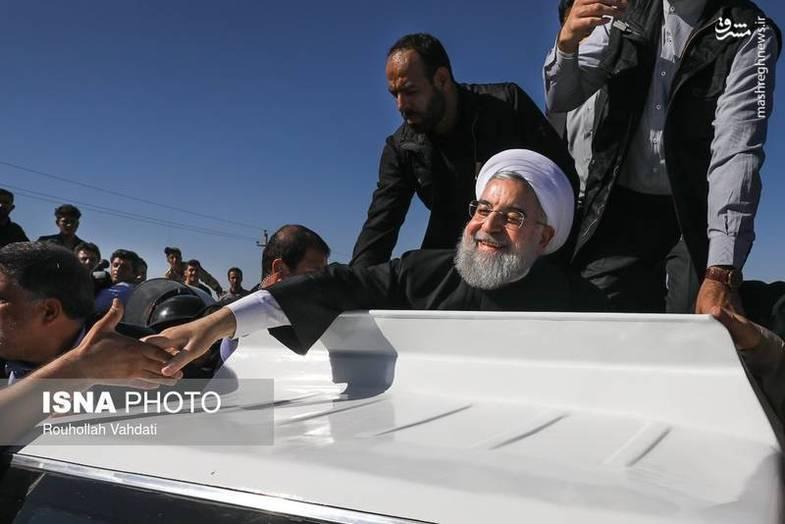 هدیه رئیسجمهور به زلزلهزدگان کرمانشاه (عکس)