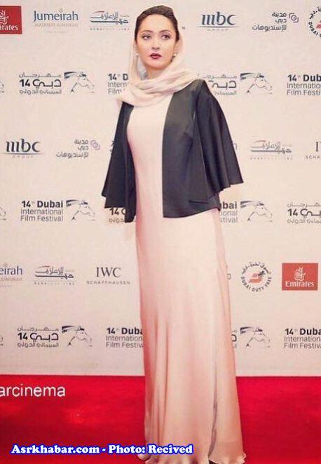 سوژه شدن دست های نیکی کریمی در اختتامیه جشنواره فیلم دبی! (+عکس)
