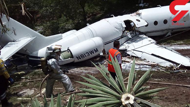 نصف شدن هواپیما در فرودگاه هندوراس (+عکس)