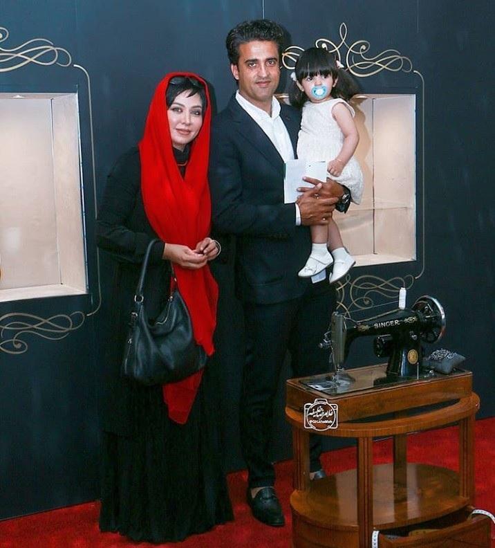 ظاهر جدید 'فقیهه سلطانی' در کنار همسر فوتبالیستش (+عکس)