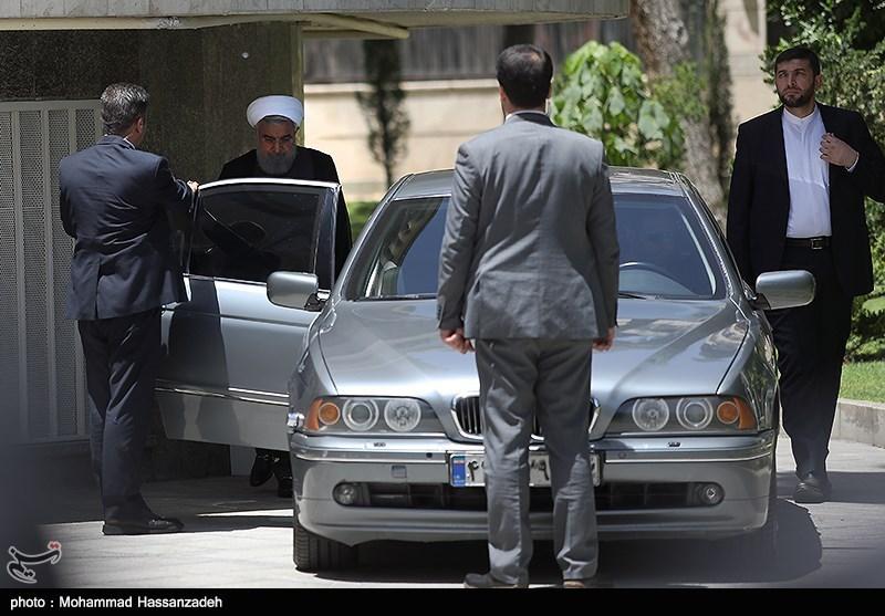 ماشین لاکچری که حسن روحانی سوار میشود (عکس)