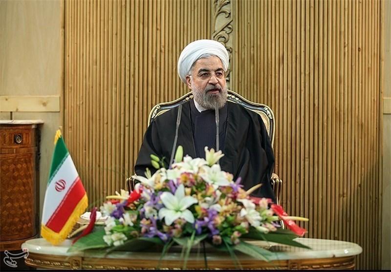 روحانی در فرودگاه مهرآباد: مسائل حقوقی دریای خزر تنها با اتفاق نظر پنج کشور عملی است