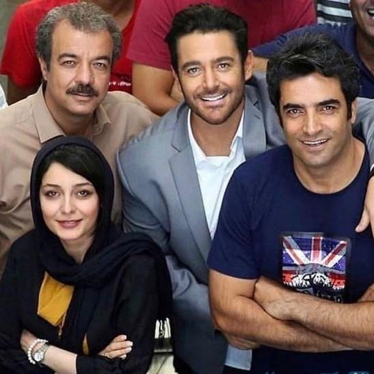 محمدرضا گلزار و بازیگران رحمان 1400 (+عکس)