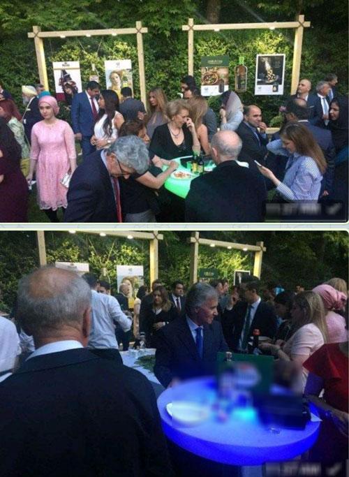 مهمانی مختلط در سفارت ایتالیا در تهران (+عکس)