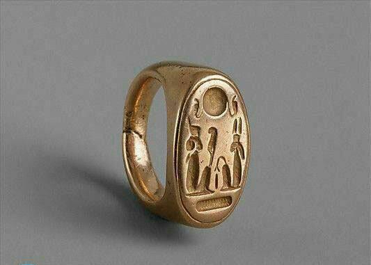 انگشتری زیبای فرعون مصر (+عکس)