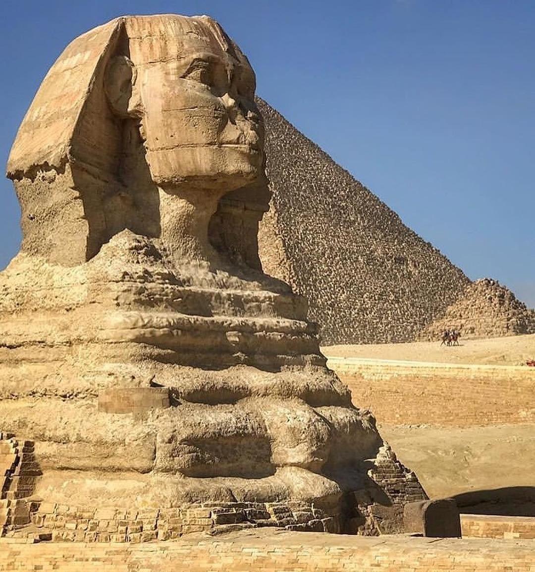 مجسمه ابوالهول در مصر (+عکس)