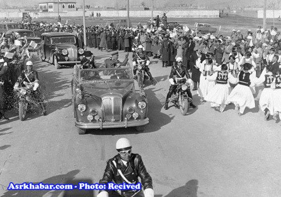 دوایت آیزنهاور رییس جمهوری امریکا در کابل دسامبر 1959