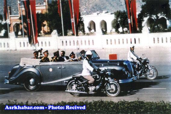محمد ظاهر شاه کابل 1968
