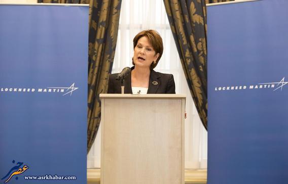 ماریلین هیوسن، مدیرعامل شرکت لاکهید مارتین فعال در زمنیه فناوری فضا، تجهیزات نظامی و امنیت اطلاعات