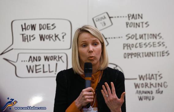 مریسا مایر، مدیرعامل یاهو