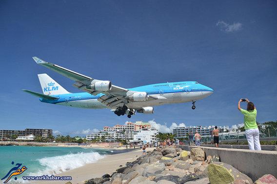فرودگاه بین المللی پرنسس جولیانا واقع در جزیره کارائیب