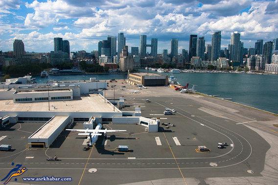 فرودگاه بیلی بیشاب تورنتو کانادا