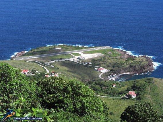 فرودگاه یوانخو ئی یروسخین در جزیره کارائیب