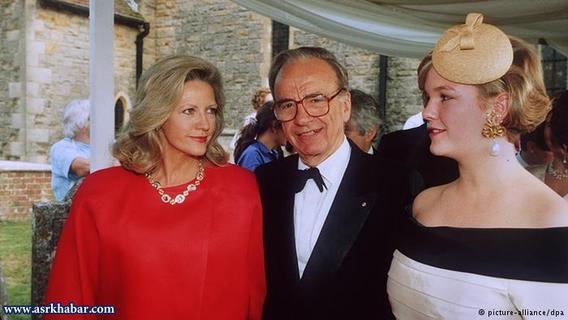 روپرت مورداک، میلیاردر و رئیس چندین شبکه خبری پس از ۳۰ سال زندگی مشترک با همسرش آنا ترو (عکس به همراه دخترشان) به هنگام طلاق بیش از یک میلیارد دلار به او پرداخت.