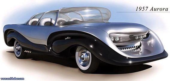 از خودرو آمریکایی Aurora ساخته شده توسط یک کشیش در سال ۱۹۵۷ اغلب با عنوان