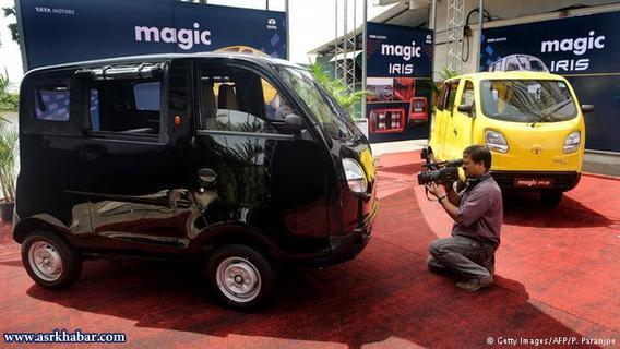Tata Magic Iris/تاتا مجیک آیریس خودرویی است در کلاس مینیون که از سال ۲۰۱۰ در هند تولید میشود.