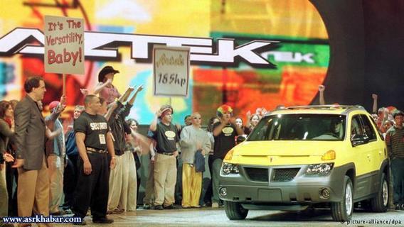 Pontiac Aztek/پونتیاک آزتک، خودرویی است که بین سالهای ۲۰۰۱ تا ۲۰۰۵ در آمریکای شمالی تولید شده است.